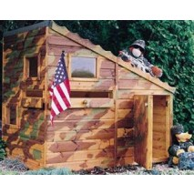 Command Post Playhouse - 6 x 4ft