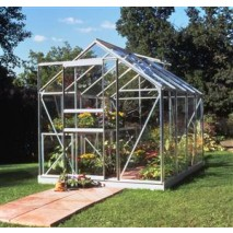 Eden Halls Popular Greenhouse (4 Sizes) - Aluminium
