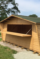 New Installation: Bespoke Cabin for PGL Tours