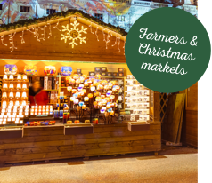 christmas & farmers makets