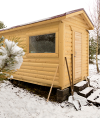 How to protect your wood shed this winter