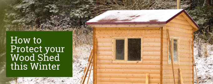 How to protect your wood shed