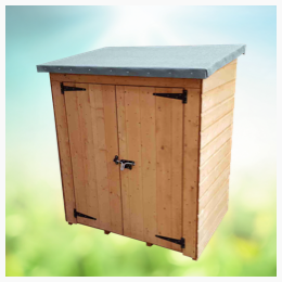 Protect valuable items with a lockable unit