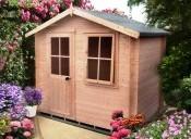 Log cabin sheds