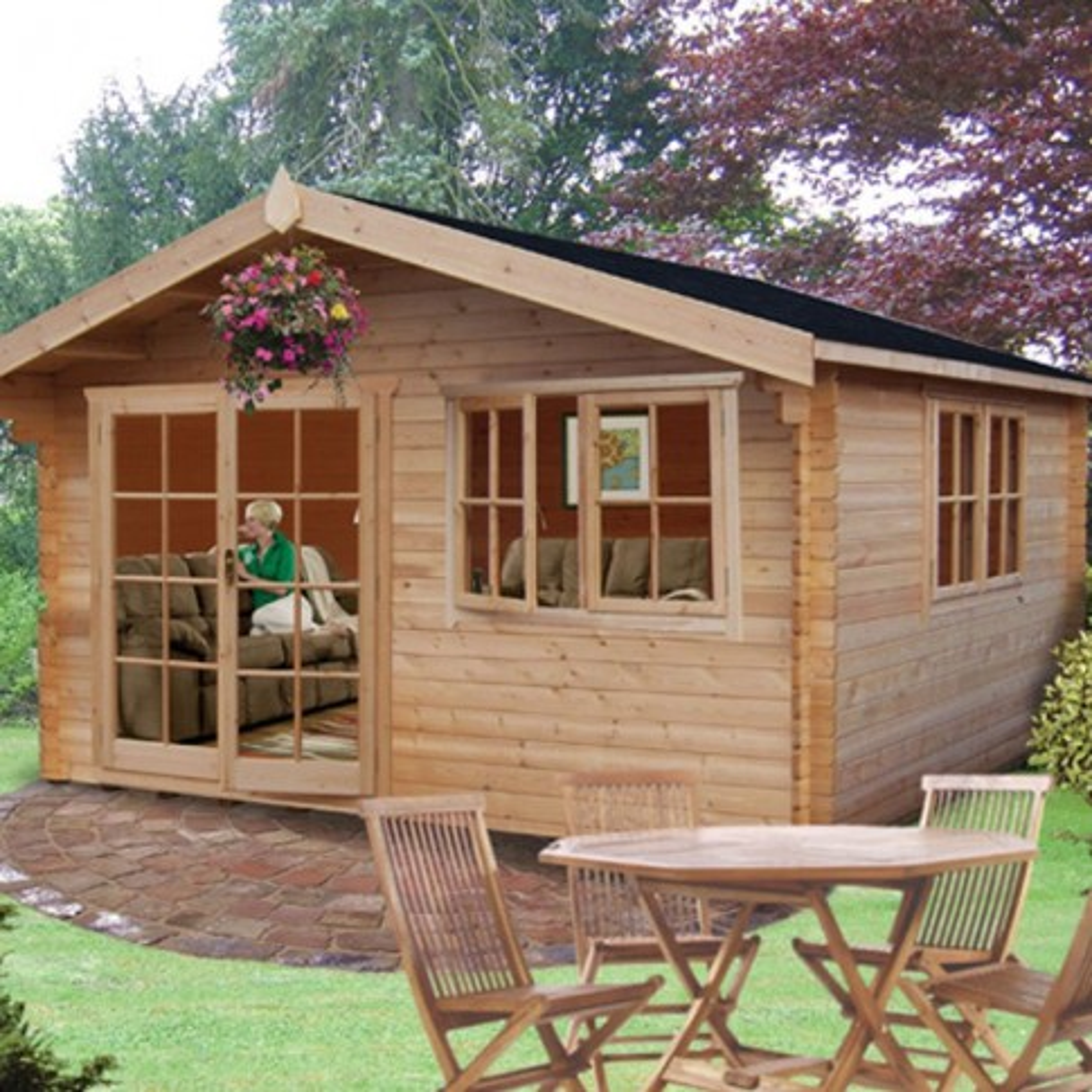 Shire Abbeyford Pine Lodge 28mm
