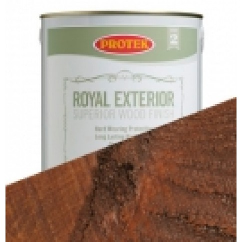 Protek Royal Exterior Natural Stain - Antique Teak (2.5litre)