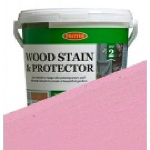 Protek Wood Stain & Protector - Baby Pink (5 litre)