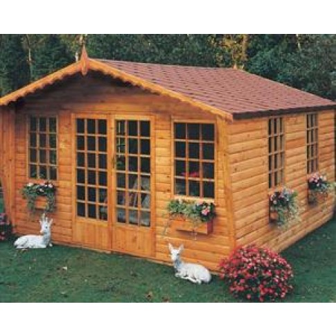 Shire Broadland Garden Room - 9 x 8ft