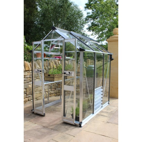 Eden Birdlip  4ft wide Greenhouse aluminium