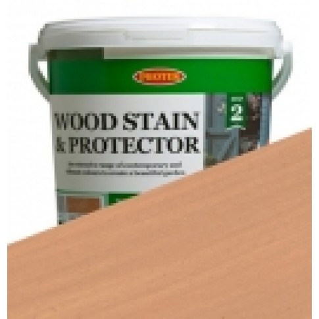 Protek Wood Stain & Protector - Biscuit (1 litre)
