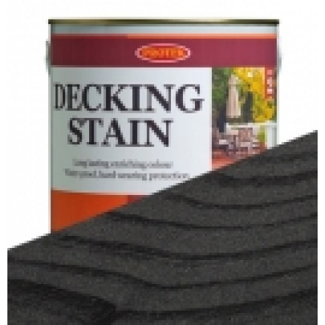 Protek Decking Stain - Black (2.5 litres)