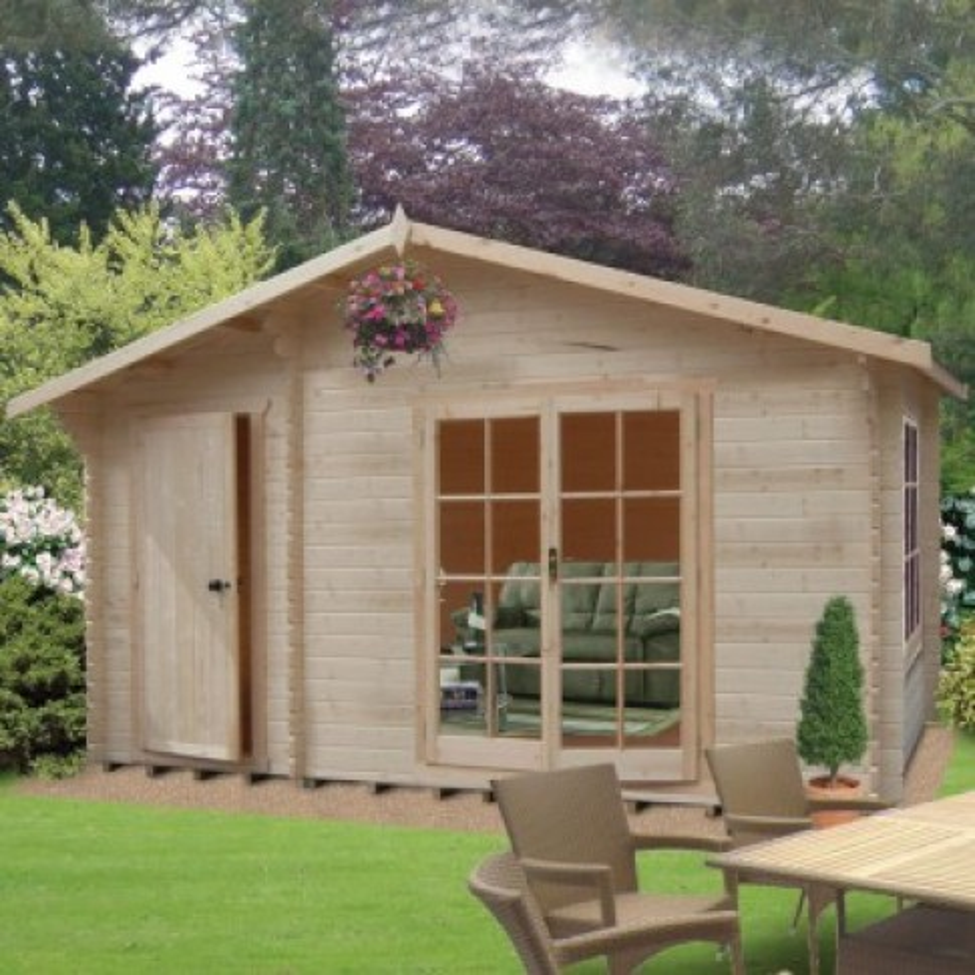 Shire Bourne Pine Lodge 70mm