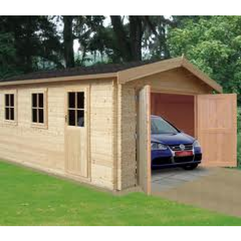 Bradenham Garage 34mm logs