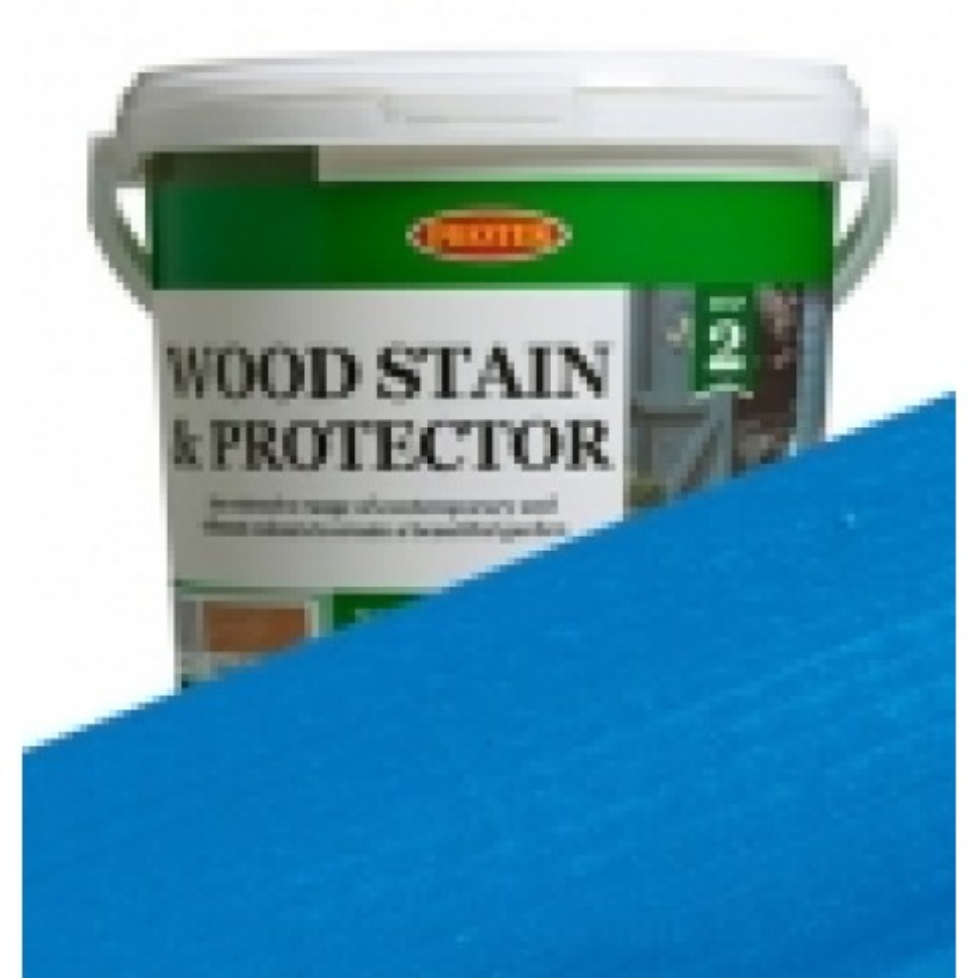 Protek Wood Stain & Protector - Bristol Blue (5 litre)