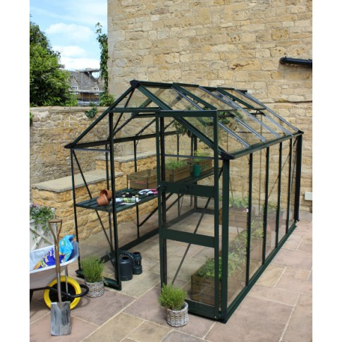 Eden Burford  6ft wide Greenhouse Green