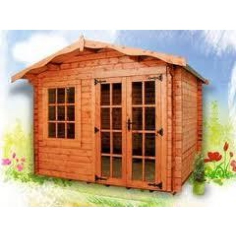 Albany Charnwood Log Cabin 34mm - Style A (13 Sizes)