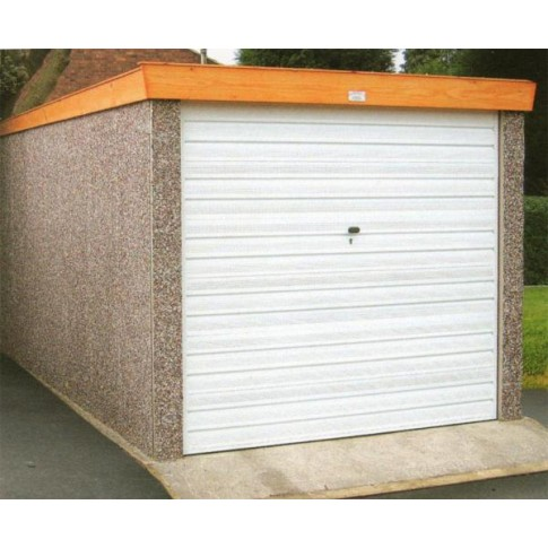 Prestige Classic Pent Garage