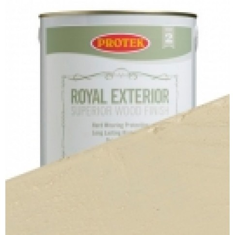 Protek Royal Exterior Off White - Cornish Cream (2.5litre)