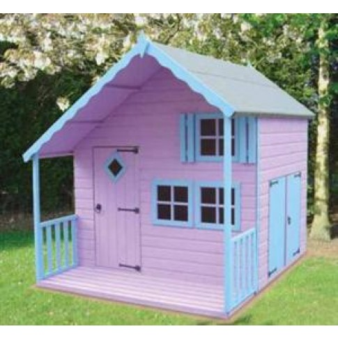 Shire Crib Playhouse - 7 x 6ft
