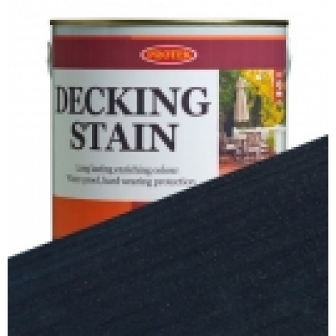 Protek Decking Stain - Dark Blue (2.5 litres)