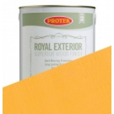 Protek Royal Exterior Soft Colours - Drawing Room Gold (1 litre)