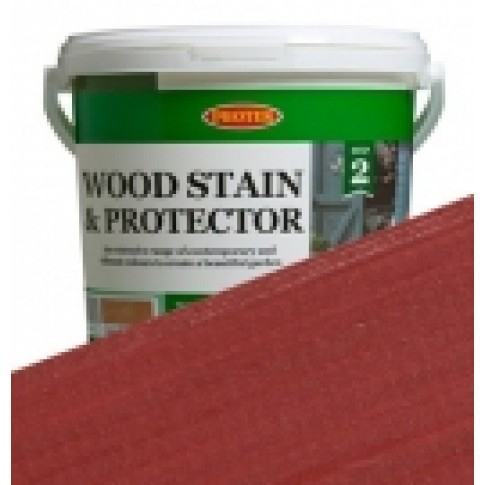 Protek Wood Stain & Protector - Ethnic Red (1 litre)