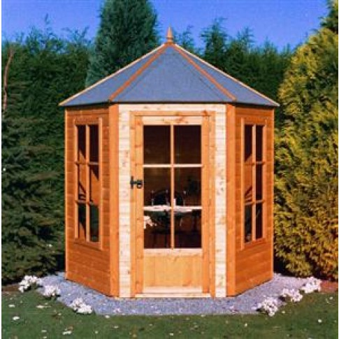 Gazebo Summerhouse 7 X 6ft Map Garden Furnishings
