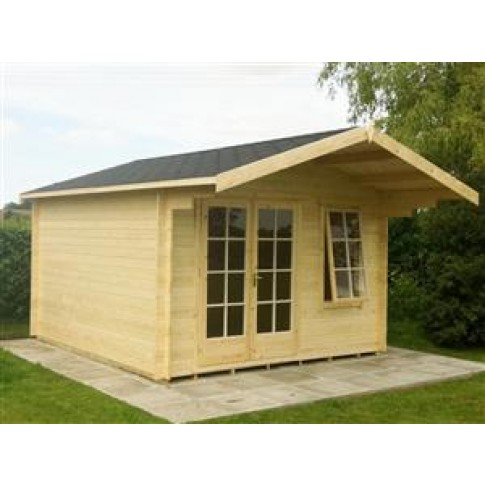 Shire Glenmore Log Cabin 44mm