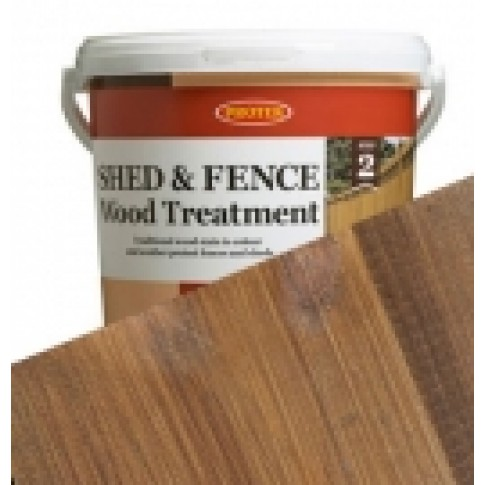 Protek Shed & Fence - Golden Brown (5 litre)