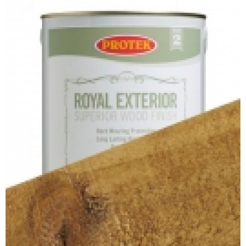 Protek Royal Exterior Natural Stain- Golden Oak (2.5litre)