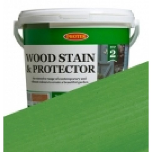Protek Wood Stain & Protector - Grass Green (5 litre)
