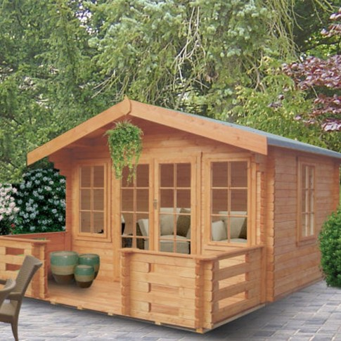 Shire Grizedale Pine Lodge 44mm