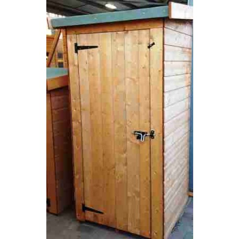 Albany Premium Half Wall Shed - 3ft x 2ft 6