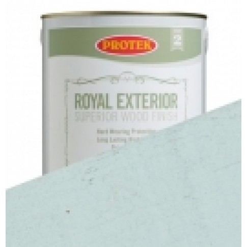 Protek Royal Exterior Off White - Ice Blue (5 litre)