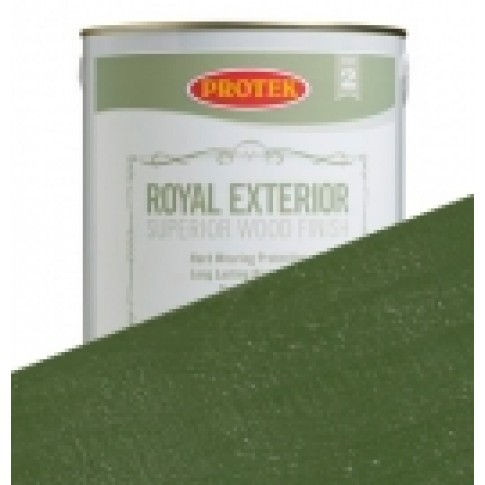 Protek Royal Exterior Vibrant Colours - Jungle Green (1 litre)