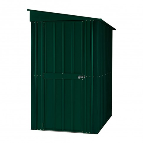 Lotus Lean To Steel Shed (4ft wide)
