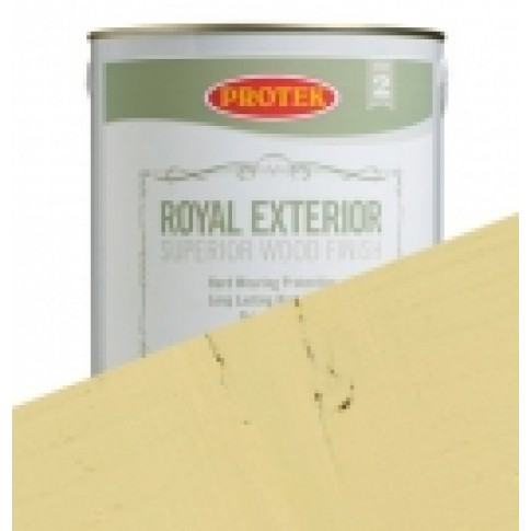 Protek Royal Exterior Soft Colours - Lemon Yellow (2.5litre)