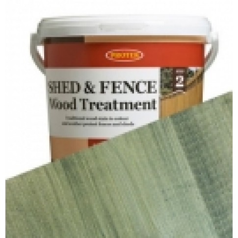 Protek Shed & Fence - Light Green (5 litre)