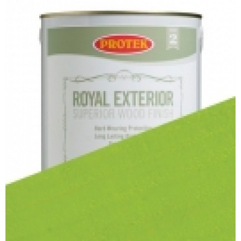 Protek Royal Exterior Vibrant Colours - Lime Green (5 litre)