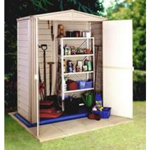 Duramax PVC Clad Shed - (2 Sizes)