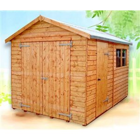 Heavy duty Sectional Timber Garage