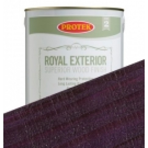 Protek Royal Exterior Vibrant Colours - Mauveine Purple (1 litre)