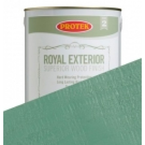 Protek Royal Exterior Soft Colours - Meadow Green (2.5litre)
