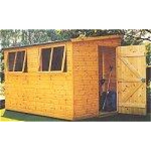 Shire Norfolk Garden Shed (9 x 6ft)