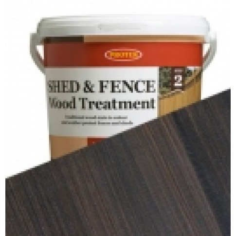 Protek Shed & Fence - Nut Brown (5 litre)