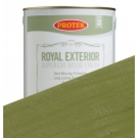 Protek Royal Exterior Soft Colours - Olive Green (1 litre)