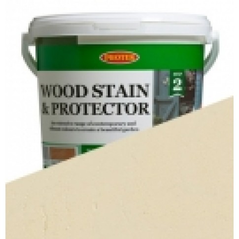 Protek Wood Stain & Protector - Parsonage Cream (1 litre)