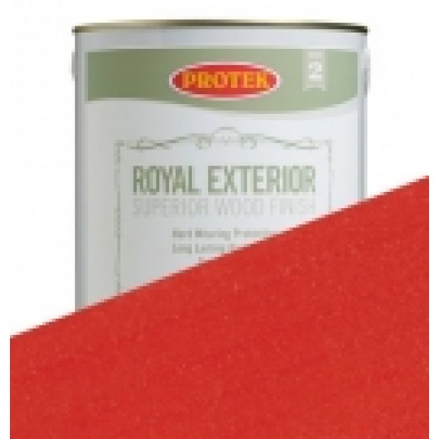 Protek Royal Exterior Vibrant Colours - Pillarbox Red (5 litre)