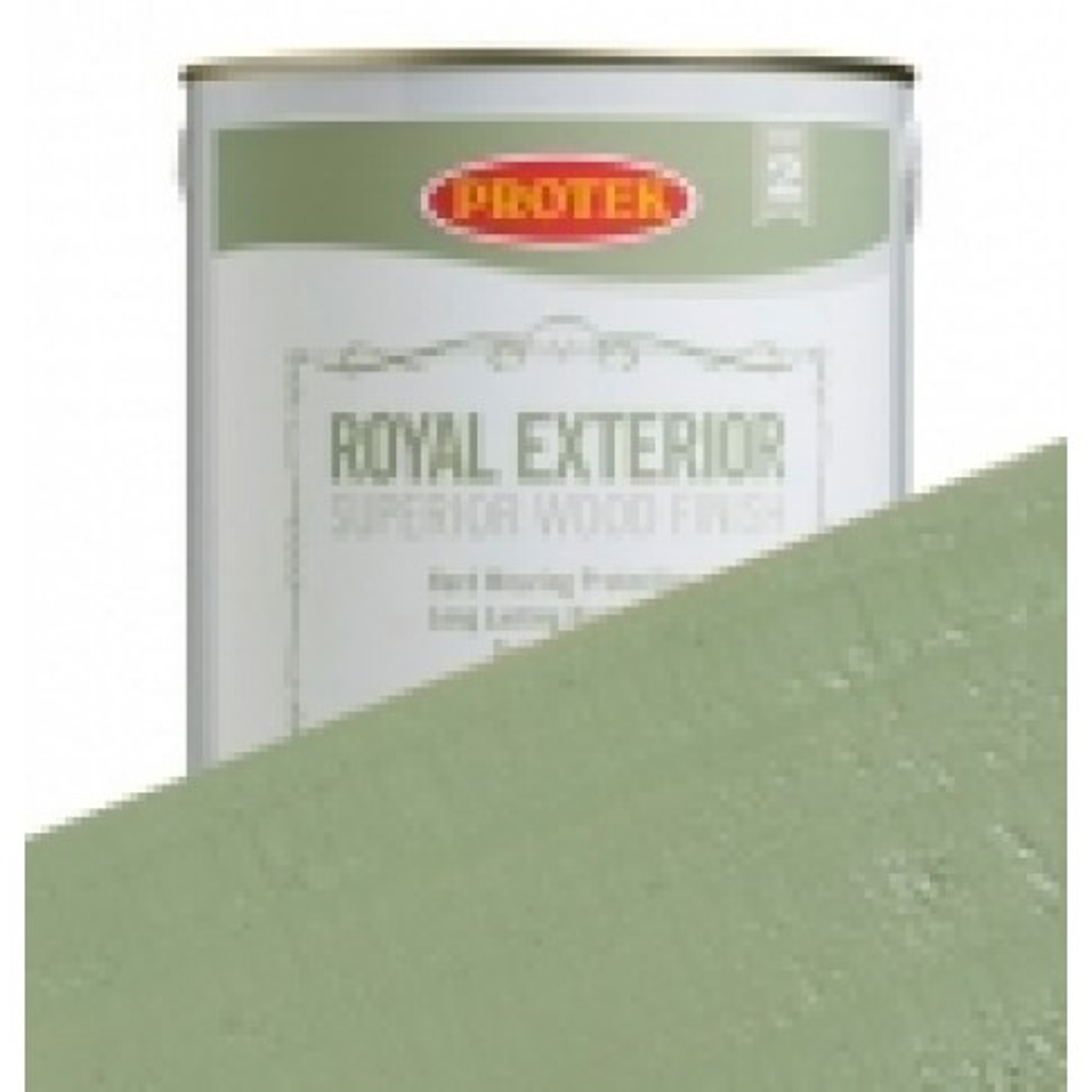 Protek Royal Exterior Soft Colours - Pond Green (1 litre)