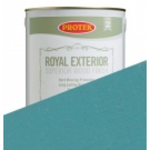 Protek Royal Exterior Soft Colours - Porcelain Blue (5 litre)